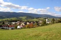 01. Old Town and the mountain Sněžník