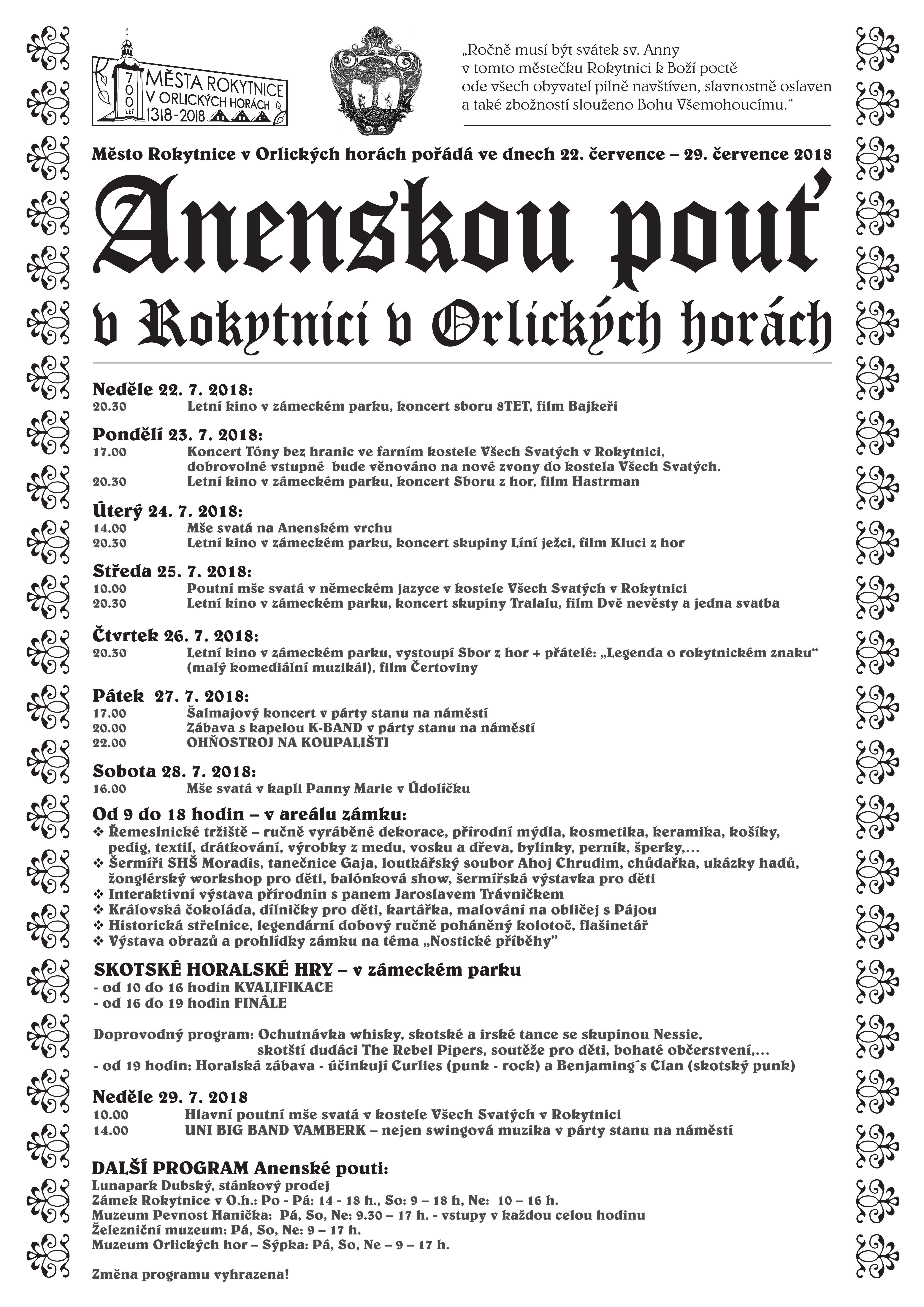 16a56299138f Kalendář akcí - Již 20 let s Euroregionem Glacensis