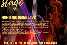 ROCKGEIGER LIVE ON STAGE