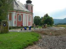 Průběh výstavby hraničního přechodu Božanov (Studená Voda) - Radków