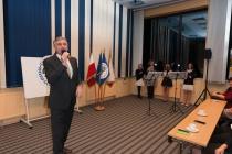 Moderátor slavnostního ocenění - pan Jan Čenský