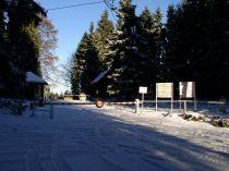 Tehdejší přechod na turistické stezce Staré Město - Nowa Morawa (2004)