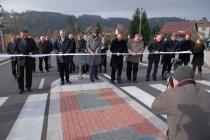 Slavnostní otevření silnice Pastviny - Mladkov